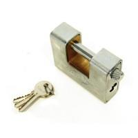 Armored padlock